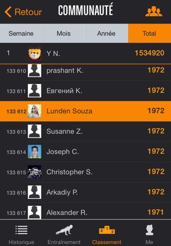 Runtastic Push-Ups PRO Trainer screenshot 4