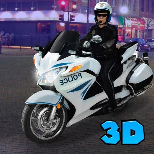 City Police Motorcycle Simulator 3D Full iOS App
