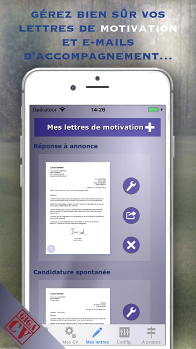 download giga-cv Votre CV sur mesure apps 0