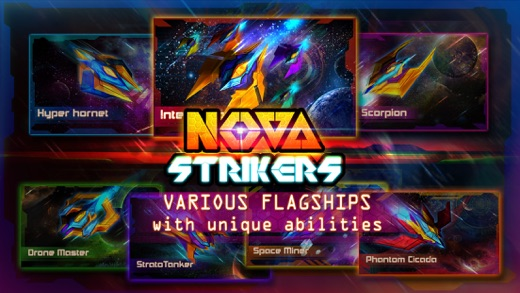 NOVA Strikers - RPG Arcade Flyer and Space Shooter Screenshot