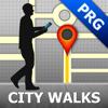 Prague Map and Walks, Full Version