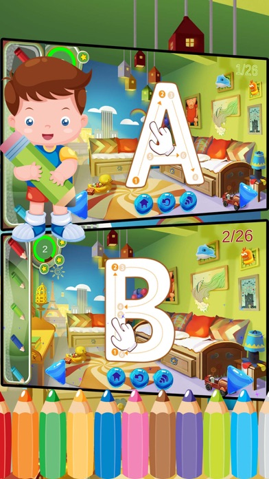 ABC Alphabet Phonics Coloring Book