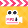 Video to mp3 converter - convert video to audio & music extractor and music player and mp3 trimmer