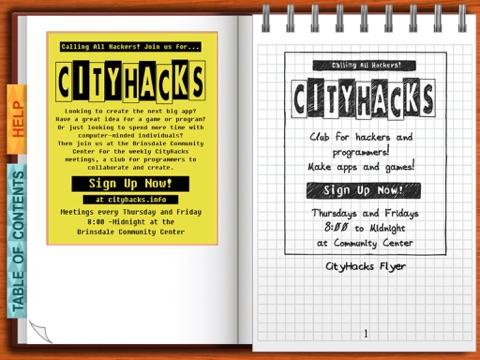 CityHacks: In Search of Sleep (a BiblioTech™ book) screenshot 2