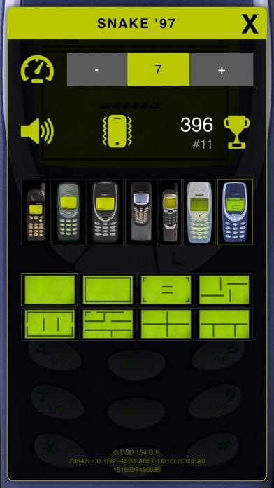 Screenshot of Snake '97: dei telefoni retrò3