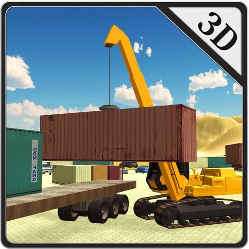 Crane Operator Simulator – Lift cargo containers & transport on heavy truck iOS App