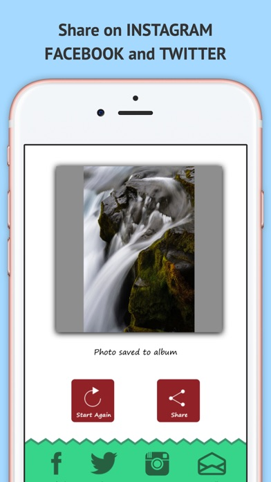 Square Ready - Un Cropped Photos for Instagram IG Screenshot on iOS