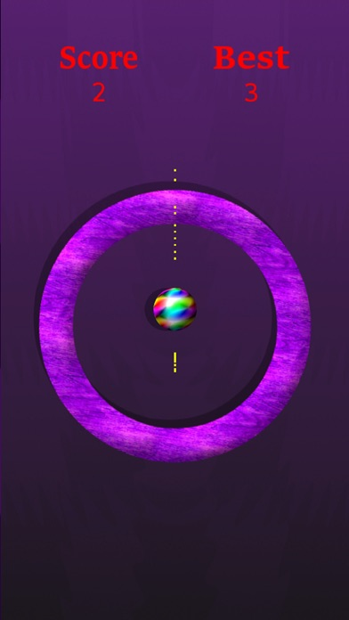 Purple Gravity Circle Screenshot