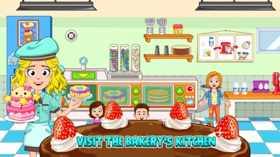 My Town : Bakery screenshot 3