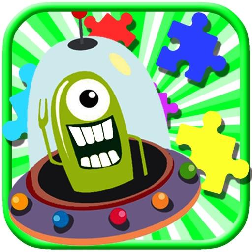 My Little Alien Adventure Jigsaw Puzzle Game Kids iOS App