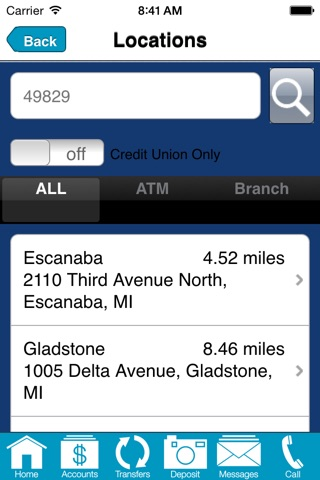 GLFFCU Mobile screenshot 2