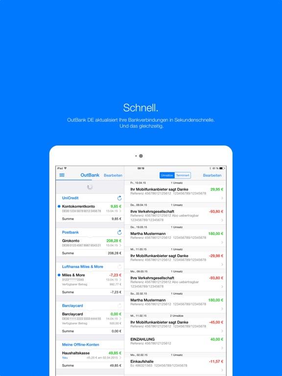 OutBank DE Screenshot