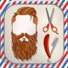 鬍子 照片編輯器 理髮店 - 自由 剪輯 人 沙龍 至 加 滑稽 的鬍子 貼紙