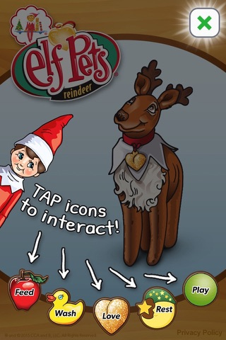 Elf Pets® Virtual Reindeer screenshot 1