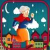 С ума бабушка - энергичный шоу в долине снег