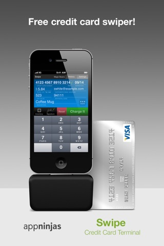 Swipe Credit Card Terminal screenshot 1