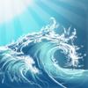 Sunny ~ Schlafen Entspannen und Meditieren am Strand mit sanften Wellen und Meeresrauschen
