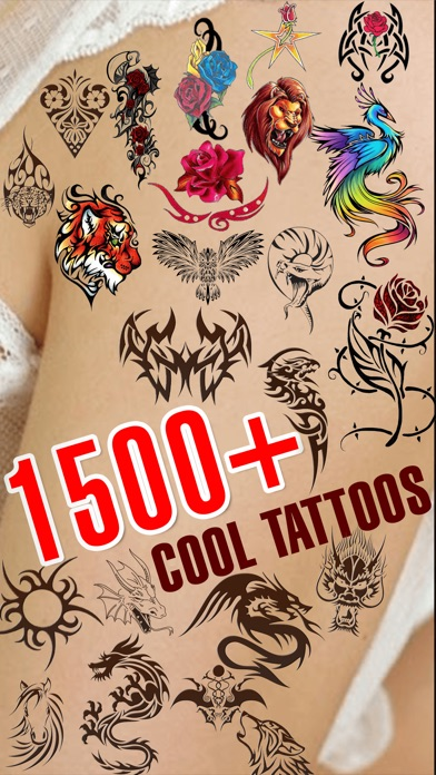 download Virtual Tattoo on Body - Get Inked Art Tattoos apps 3