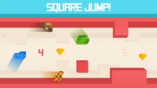 Square Jump! Screenshot