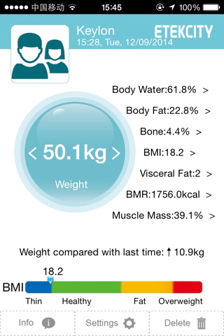 Etekfit screenshot 2