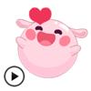 download Animated Cute Couple Emoji Gif