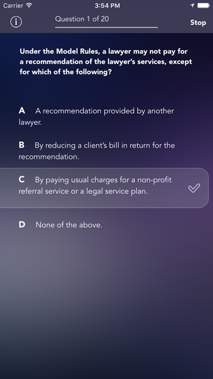 Certified Paralegal Exam/Test Practice by iMobiApp.net