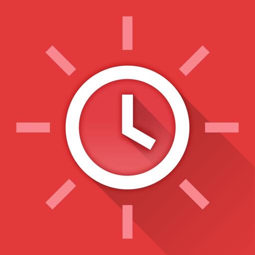 【实用生活】时尚桌面时钟 Red Clock (Alarm & Weather)