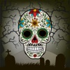 Day Of The Dead Face Paint – Make Calavera Montage.s With Sugar Skull Stickers