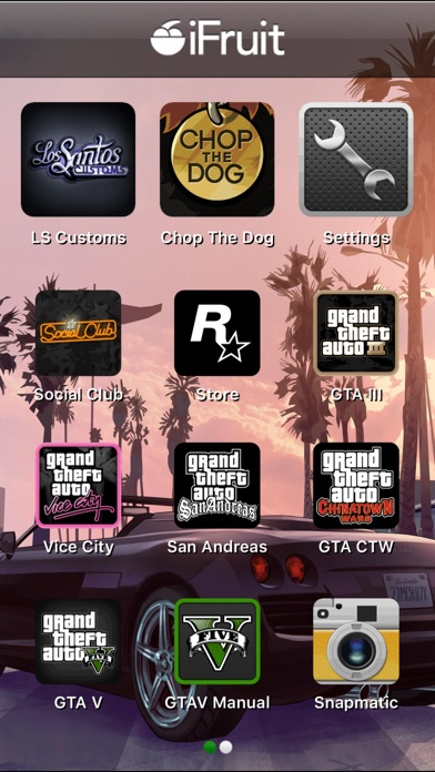 Screenshot for Grand Theft Auto: iFruit in United Kingdom App Store