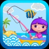 Anna's seaside Fishing Village (Happy Box) fishing game for kids fishing videos