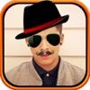 Sunglass Hat Beard Fashion - Selfie Makeup For Men