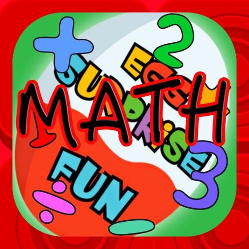 Surprise Eggs Math Games Kids Free iOS App