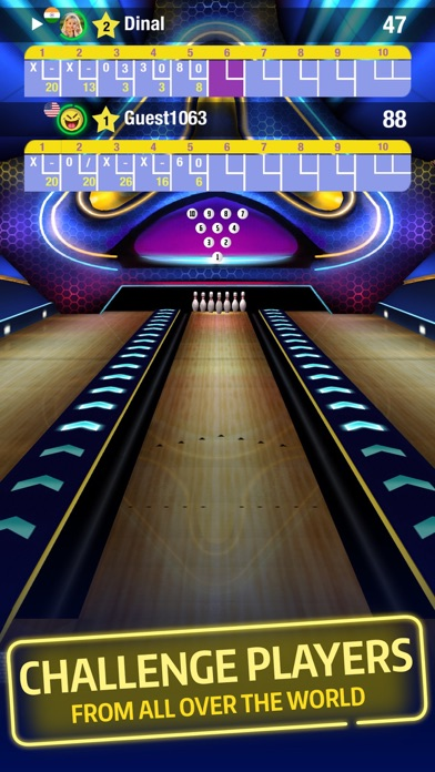 download Bowling Central - Online multiplayer, Puzzles, Tournaments, Apple TV support, Free game! apps 0