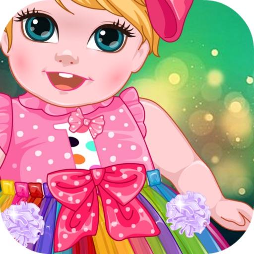 Princess Baby Birthday Tutu iOS App
