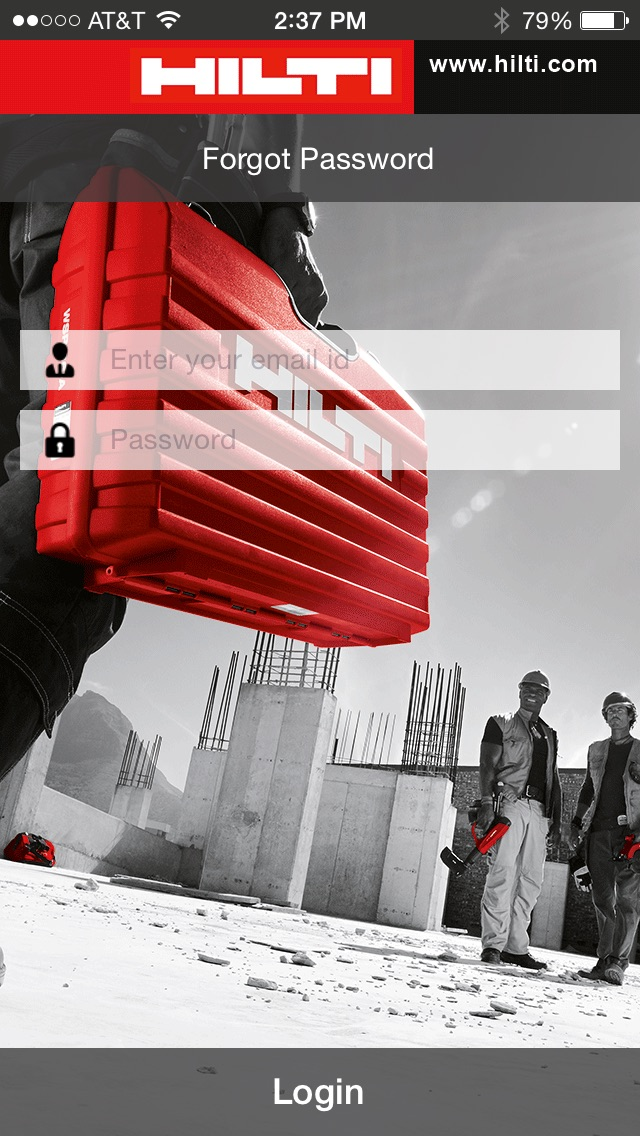 Screenshot von Hilti CFS-DM1