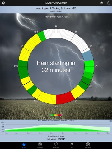 RainAware Weather Timer - Control Your Weather! screenshot 1