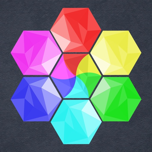 Bubbles Hexagon Puzzle iOS App