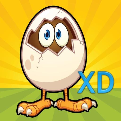 Crazy Farm Chicken Egg Drop XD - Amazing Animal Toss Rescue Blast iOS App