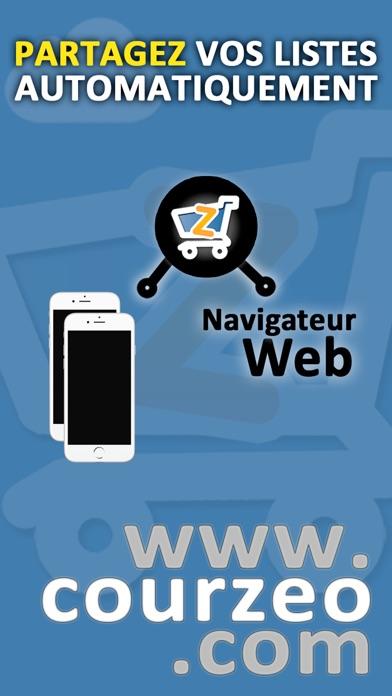 download Liste de courses Courzeo apps 1