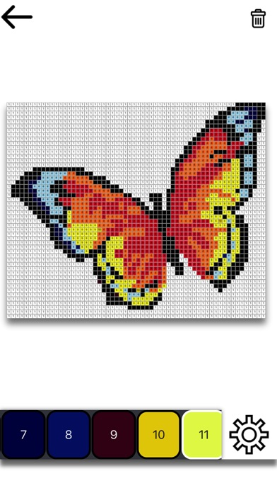 Pixel Art : Malen nach Zahlen Bei Florian Winter