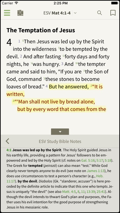 download Bible by Olive Tree apps 4