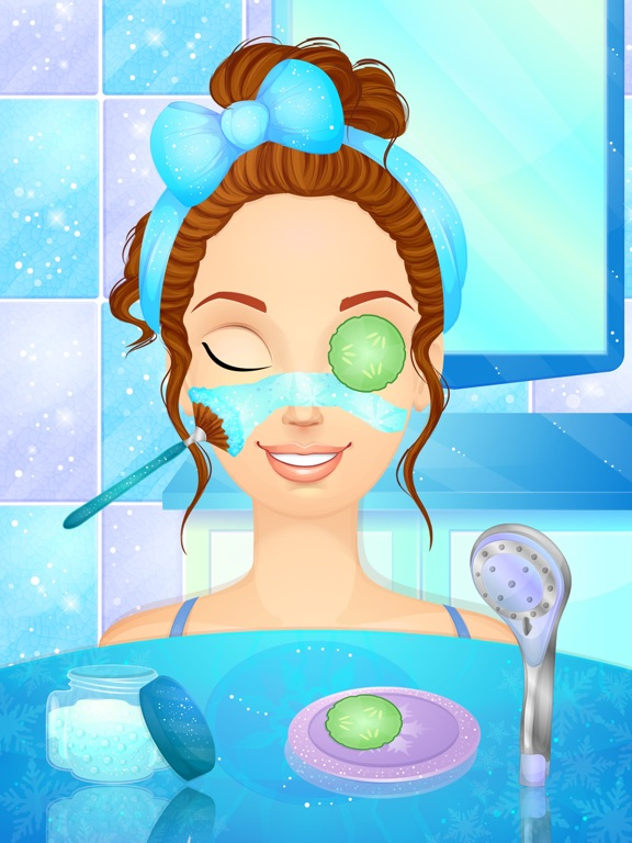 Ice Queen Wedding - Makeup and Dress Up Girl Games By Peachy Games LLC