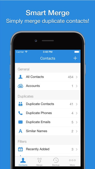 Screenshot #6 for Smart Merge - Cleanup Duplicate Contacts