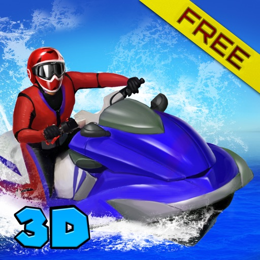 Extreme Boat Racing Fever 3D iOS App