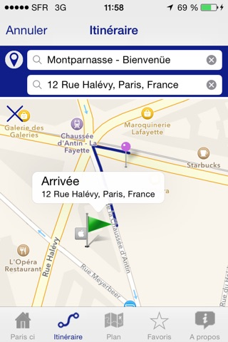 Paris ci la sortie du Métro screenshot 3