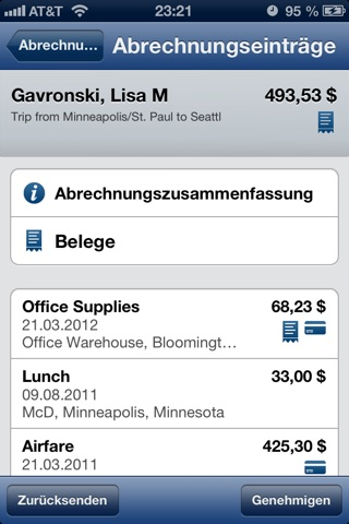 Concur - Travel and Expense screenshot 3