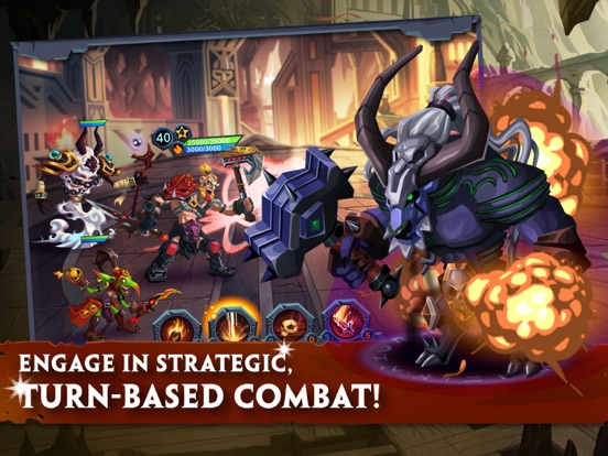 Age of Heroes: Conquest на iPad