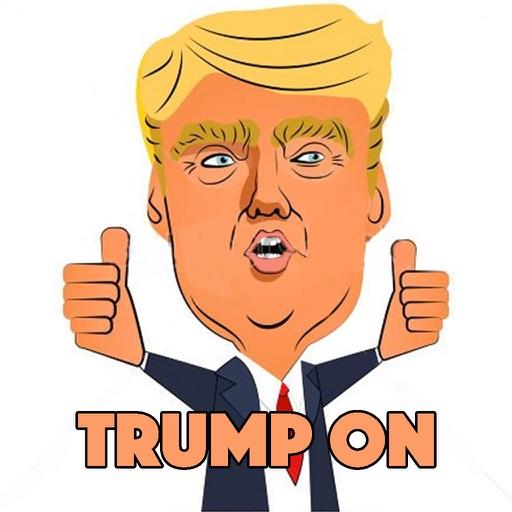 Trump On Gravity The Run iOS App