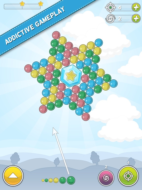 Bubble Cloud: Spinning Bubbles Скриншоты9