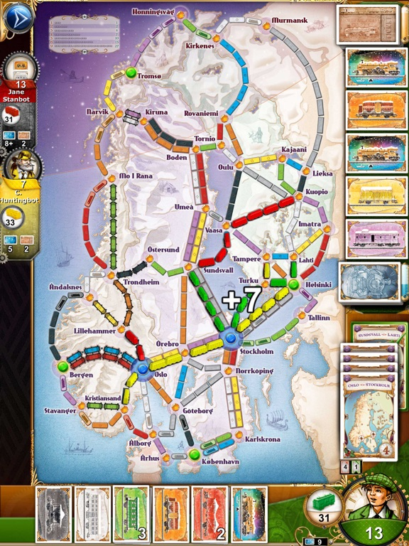 Screenshot 3 Ticket to Ride